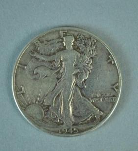 (21) WALKING LIBERTY SILVER HALF-DOLLAR COINS