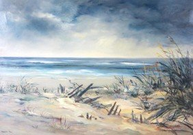 PAINTING BY LOCAL ARTIST BABETTE ROY