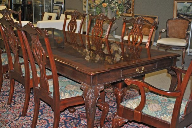 henredon dining room chairs : Kelli Arena