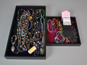 (20) Piece Costume Jewelry Group