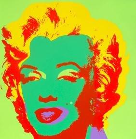 Andy Warhol Marilyn Monroe Sunday B. Morning Serigraph