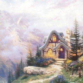 """Thomas Kinkade """"Sweetheart Cottage III"""""""