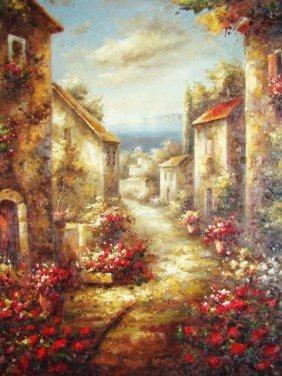 "Impressionist Painting ""Romantic Dreams"""