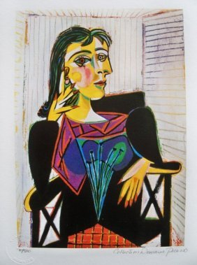 Picasso DORA MAAR Limited Ed. Giclee