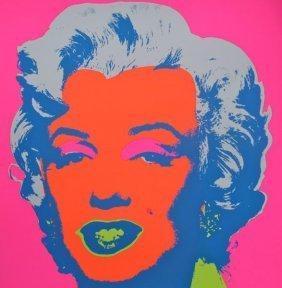 Andy Warhol MARILYN MONROE Sunday B Morning Serigraph