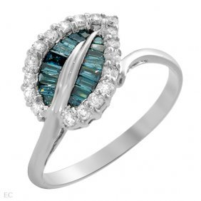 0.55 CTW Diamonds 14K White Gold Ring $6,725.00