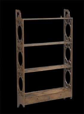 George III-Style Hanging Shelf