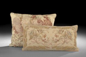 Group Of Two French Pillows