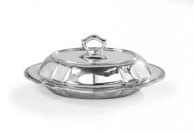 Tiffany & Co. Sterling Silver Covered Entree Dish