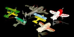 6 Nice Toy Airplanes