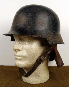 ORIGINAL NAZI FIRE POLICE HELMET