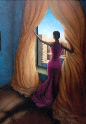 Answerd Stewart : Return To The Light Signed Giclee