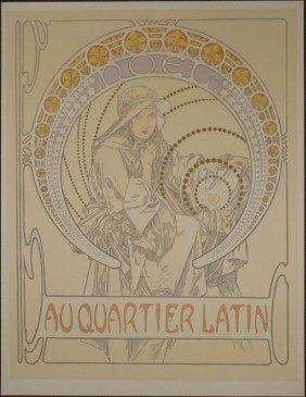 Alphonse Mucha : Noel Art Nourveau Print