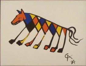 Alexander Calder : Beastie Art Print