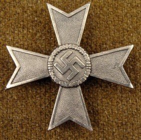 ORIGINAL NAZI WAR MERIT MALTESE CROSS-1ST CLASS