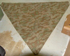 WWII Nazi Triangular Camoflage Field Tent