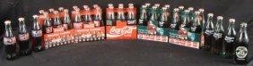 Cola-Cola Collector 37 Full Bottles Nascar World 6-Pks