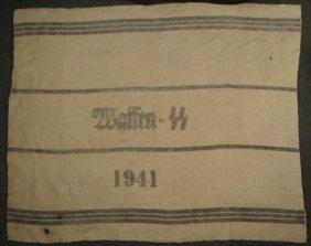 WWII Nazi Waffen SS Hospital Blanket 1941