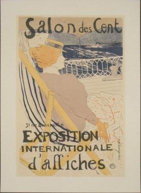 Henri De Toulouse-Lautrec : Salon Des Cent Art Print