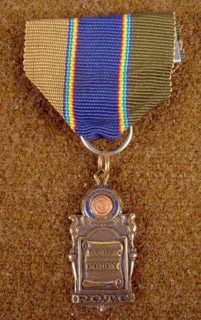 "1940'S AMERICAN LEGION ROTC ""SCHOLASTIC ACHIEVEMENT"""