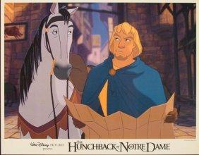 Hunchback Of Notre Dame Original Lobby Card Phoebus