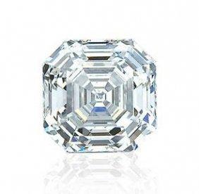 8 Carat Asscher Cut VVS1 Color H BIANCO Diamonde