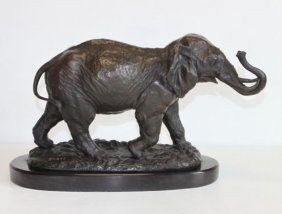 Unique Bronze Sculpture Elephant