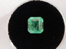 1.90 Carat Bright Glowing Green Emerald Gemstone