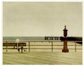Max Ferguson CONEY ISLAND III Hand Colored Etching Art