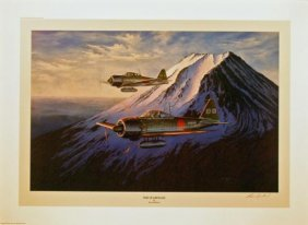 Aviation Art Ross Buckland The Guardians Zero