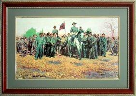 Mort Kustler Civil War Framed Art Print General Lee