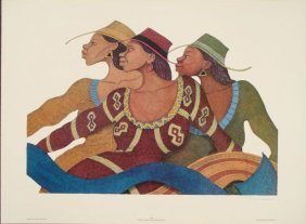 Albert Fennell : Sashe African Art Print