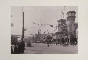 Coney Island Luna Park Print From An Early 1907 Photo