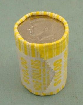 2000-D Bank Roll Kennedy Halves Half Dollars Coins UNC
