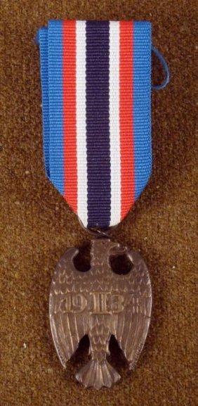 1934 German Eagle Decor W/ Ribbon