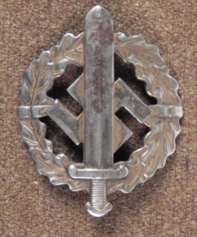 NAZI S.A. SPORTS BADGE EARLY ORIGINAL