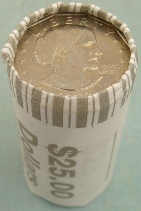1 Bank Roll 1979-D UNC Susan B. Anthony Dollars