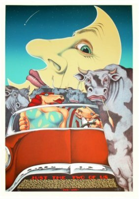 Markus Pierson 'Just The Two Of Us' Lithograph