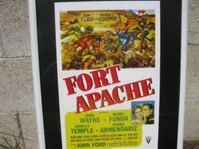 Fort Apache John Wayne Reproduction Poster