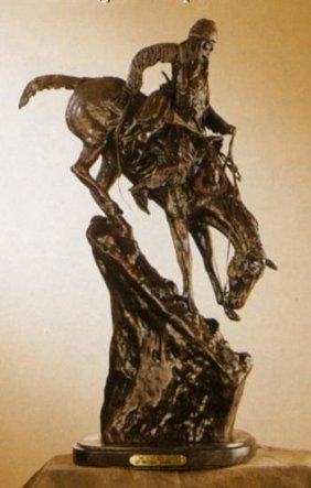 Mountain Man By Frederick Remington Bronze Sculpture