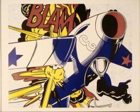 Roy Lichtenstein : Blam Art Print