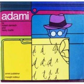 Valerio Adami Hard Cover Book