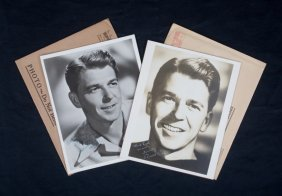 RONALD REAGAN SIGNED PHOTOGRAPHS