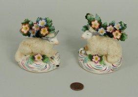 Small Pair Staffordshire Sheep