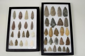 Group New England Indian Arrowheads