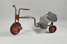 Vintage Angeles Metal Tricycle