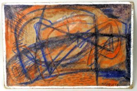 "Rolph Scarlett ""abstract"" C/b"