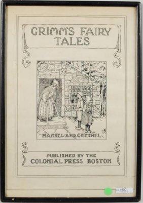 Colonial Press Boston Original Cover Art