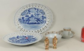 Group Seven Asian Porcelain Items