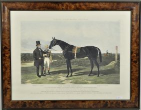 Fores' English Hand Colored Sporting Engraving